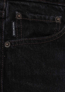 Washed Black Jeans