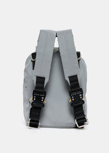 Silver Reflective Mini Tank Backpack