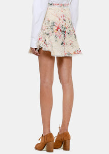 Meadow Floral Laelia Diamond Frill Shorts