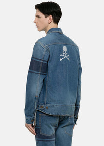 Indigo Denim Logo Jacket