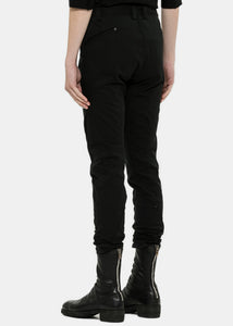 Black Twisted Trousers