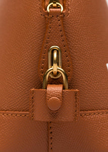 Caramel Small Ville Top Handle Bag