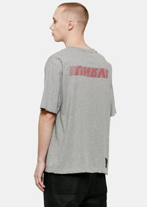 Heather Grey Motion V Skate T-Shirt