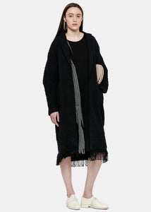 Black French Sleeve One Piece Dress