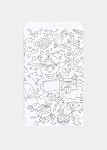 Coloring Paper Bags - Set of 8