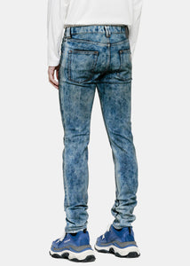Mottled Blue Jeans