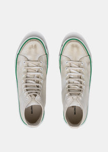 White Match High Trainers