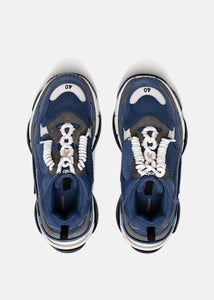 Navy Triple S Trainers