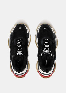Black Triple S Trainers