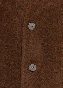 Brown Lambswool Doorman Coat