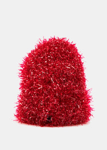 Red Tinsel Toque