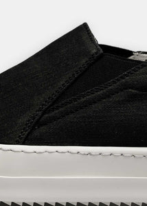 Black Scarpe Low Boat Sneakers
