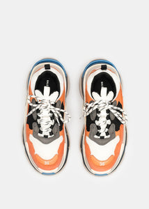 Orange & Grey Triple S Trainers