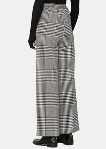 Princes-Of-Galles Wide-Leg Pants