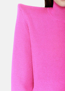 Fuchsia Pagoda Sweater