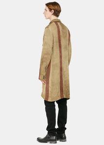 Tan & Red Giovanni Coat