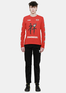 Red Zenmondo Jersey T-Shirt