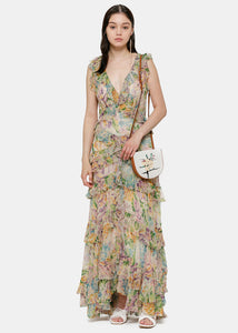 Tulip Floral Ninety-Six Flutter Dress