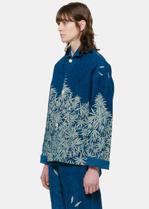 Indigo Canna Shadow Jacket