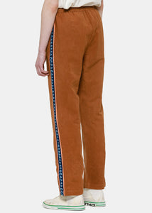 Brown Pacer Track Pants