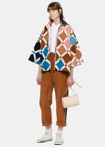 Multicolor Nice Riff Patchwork Jacket