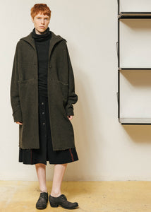 Wide One-Piece Unlined Coat