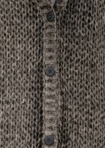 Brown Cashmere Cardigan