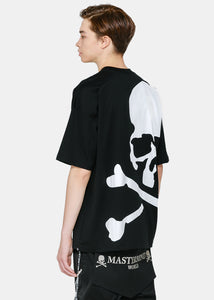 Black Oversized Logo T-Shirt