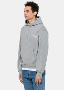 Heather Grey Campaign Hoodie