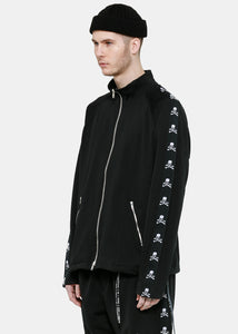 Black Logo Track Jacket