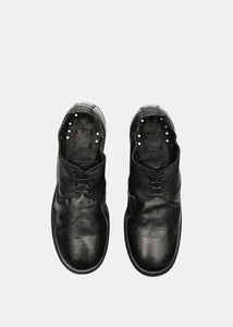 Black 792 Classic Derby Shoes