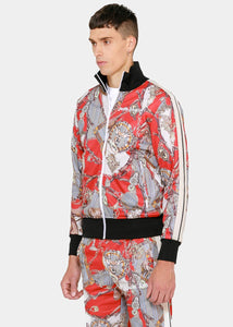 Multicolor Hot Bridle Track Jacket