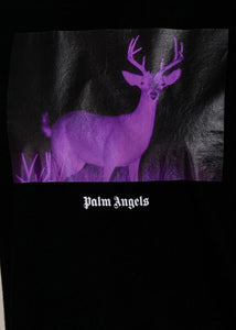 Black Night Vision Deer T-Shirt