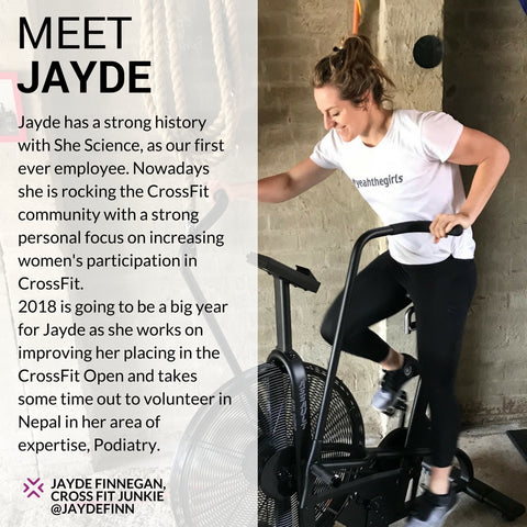 Jayde Finnegan, She Science Ambassador