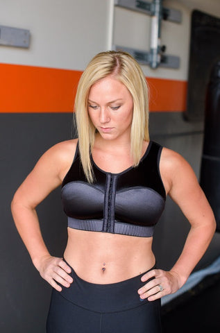 enell maximum control wire free sports bra