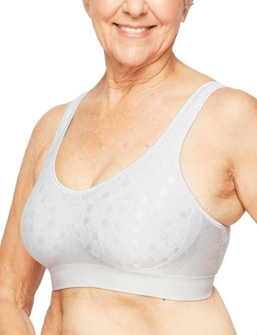 wire free bra for elderly