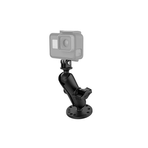 RAM® Drill-Down Mount with Universal Action Camera Adapter (RAM-B-138-GOP1U)