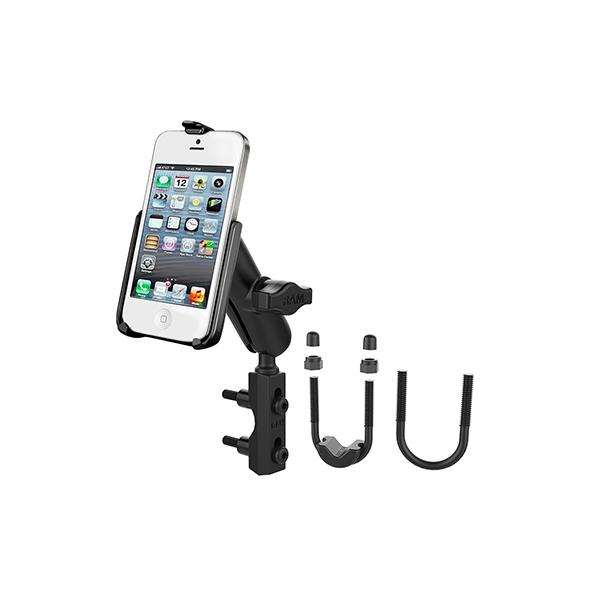 RAM® Motorcycle Brake/Clutch Reservoir Mount for Apple iPhone 5 & 5s (RAM-B-174-AP11)
