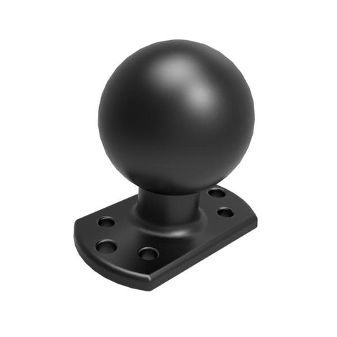RAM-D-202U-CRO1 D Size Ball Round Plate for Crown Work Assist - RAM Mounts Hong Kong - Mounts Hong Kong