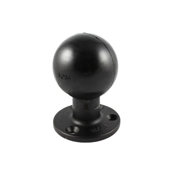 "RAM 3.68"" Dia Round Base with 3.38"" Ball (RAM-E-202U) - Image1"
