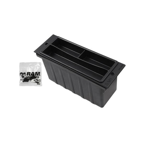 "RAM 3"" Wide Accessory Pocket with Tray (RAM-FP3-AP) - Mounts Hong Kong - RAM Mounts Hong Kong"