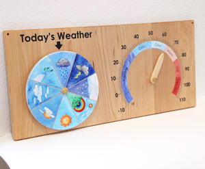Horizontal Weather Chart
