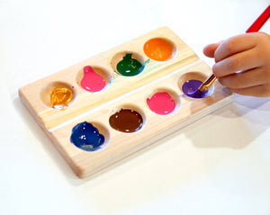 Wood Paint Palette