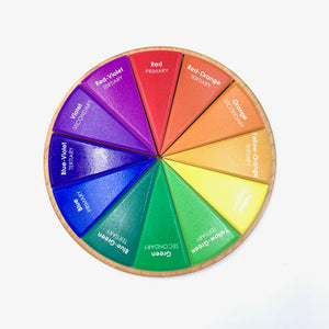 Color Wheel - 12 Piece Puzzle
