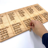11-20 Counting Board with Wood Balls