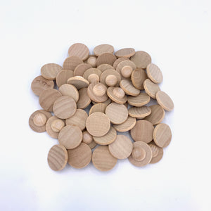 50 Blank Small Coins
