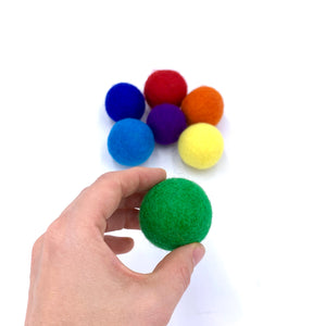 2-Inches Wool Ball