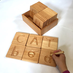 Print Alphabet Tracing Cards