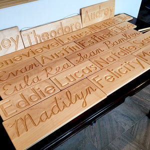 Personalized Name Tracing Board