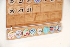 Picture Coins for Calendars & Charts